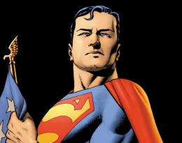 Picture of Superman from DC Comics.