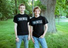 Wright State student Tyler Gregory (left) and high school friend Scott Hannah are the anti-bullying advocates known as The NoBull Guys.