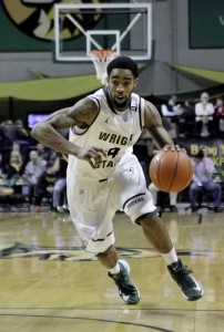 Photo of junior forward Jerran Young