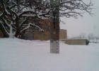 Wright State's snowy day