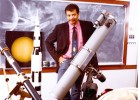Photo of Neil deGrasse Tyson, the director of the Hayden Planetarium at the American Museum of Natural History.