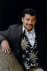 Photo of Neal deGrasse Tyson, the director of the Hayden Planetarium at the American Museum of Natural History.