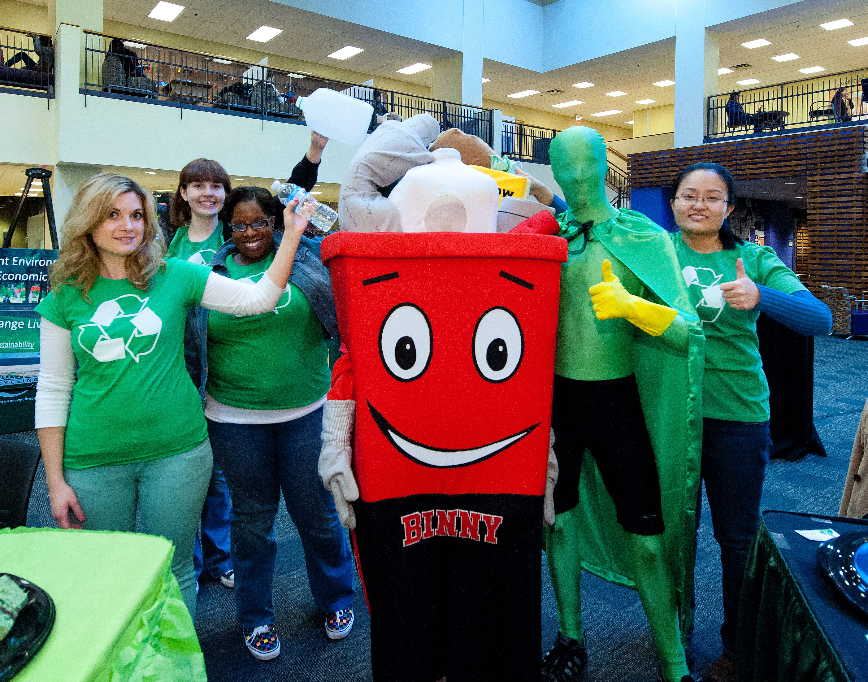 Wright State Newsroom – RecycleMania takes over Wright State ...