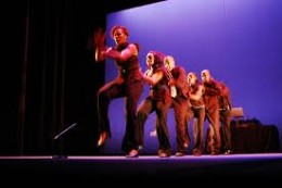 Photo of the dance company Step Afrika!