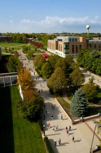 Photo of Wright State University's Dayton campus.