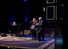 (L to R): Stephen Schwartz, Debbie Gravitte and Scott Coulter performing at the Festival Playhouse March 19.