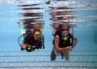 First Dive!, is an outreach program that introduces the amputee population to the emotional and physical benefits of scuba diving. This picture is from an event in Florida.