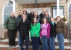 The Wright State Finance Club at St. Virgilius Church in Broad Channel, New York.