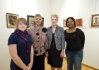 Now in its 14th year, the Women in Art: Unheard Voices show continues to help women artists put together the body of their work for a show. The 2010 artists (l–r): Samantha Layne, Carol Moore, Sheryl Scott, and Lillian Herbert.