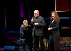(L to R): Stephen Schwartz, Scott Coulter and Debbie Gravitte performing at the Festival Playhouse March 19.