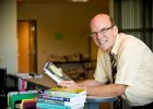Carl Brun, chair of Wright State's Department of Social Work, is the first director of the new MASW program and is helping teach some of the master's courses.