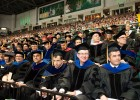 As is customary, Wright State faculty watched proudly as their students achieved their dreams.