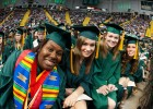 Women composed the majority of Wright State's spring graduating class.