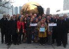 Wright States Model UN team was named Outstanding Delegation for 34th consecutive year at the National Model United Nations Conference.