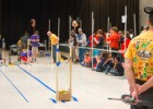 Mousetrap Vehicle competition, Student Union Apollo Room, 2013 Science Olympiad National Tournament, May 18.