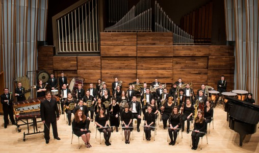 Wind Symphony in Schuster Hall