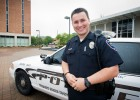Wright State police officer Kurt Holden relishes the chance to help young people who might need more than luck to achieve their dreams.