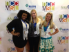 (L-R) Malaya Davis, Margaret Murray and Elly Shellhaas pose for a picture at the National Conference for College Women Student Leaders.