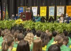 President Hopkins welcomes the class of 2017.