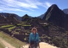 Polanka's job at Wright State allows her to travel the world. This is her in front of Machu Picchu, the famous Incan ruin.
