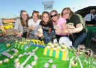 On Saturday, Sept. 28, at 5 p.m., the Wright State fraternity and sorority community is hosting a cupcake bake-off as part of a fundraising event for Ally's Army. The event will be held at Alumni Field before the Wright State men's soccer game.