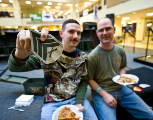Wright State serves about 750 veterans or military-connected students — service members, Guard and Reserve members and military dependents.