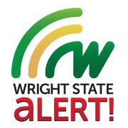Wright State Alert logo
