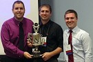 (L-R) Doug Laurain, Luke Andera and Robert Beaulieu won the Doctor's Dilemma® contest at the 2013 Ohio Chapter Scientific Meeting of the American College of Physicians on Oct. 10.