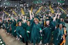 The Fall Commencement class included applicants for 1,052 bachelor's degrees, 570 master's degrees and 113 other degrees and certificates.