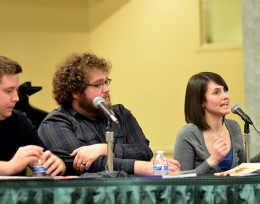 Adventures in the Literary Arts panel