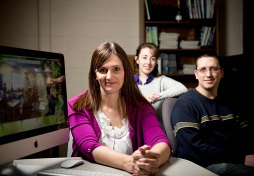Lisa Kenyon, Jeannette Loyer and Mackenzie English