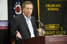 Ohio Governor John Kasich at Wright State Fridar, Mach 21, 2014