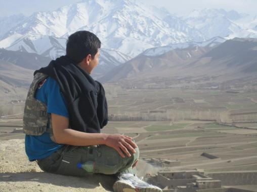 Zia Anwari in Afghanistan