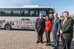 Enroll American bus tour