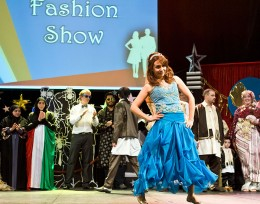International Friendship Affair fashion show