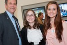 Sherrod Brown, Sasha Cahill and Kellie Jean Roberts