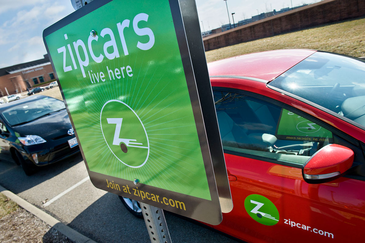 Wright State Newsroom Wright State Partners With Zipcar To Offer Car Sharing Provide An