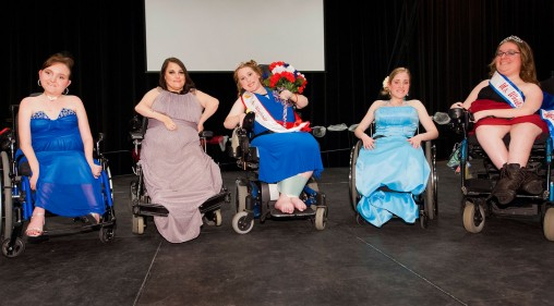 Ms. Wheelchair Ohio contestants
