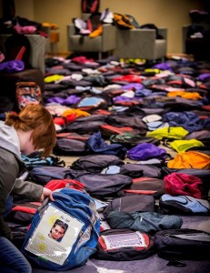 Send Silence Packing backpacks