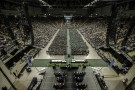 Wright State honored more than 2,000 graduates at its Spring Commencement ceremony in the Nutter Center.
