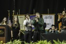 "ETHOS, an a cappella ensemble at Wright State, sang ""Love Rescue Me"" during the ceremony."