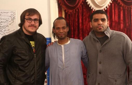 Josh Deane, Tarik Sultan and Yasser Souisri