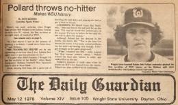 Robert Pollard no-hitter story from The Guardian