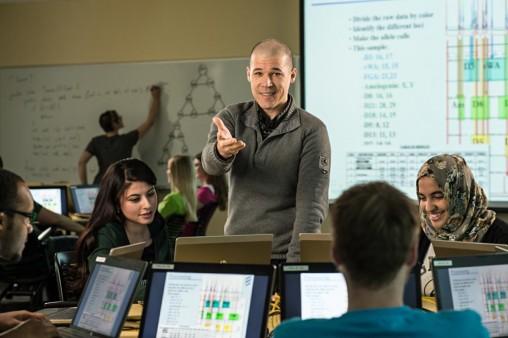 Computer science and engineering professor Travis Doom