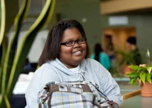 Nursing student Vicky Lindsey