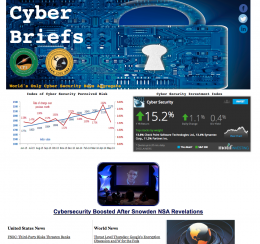 Cyber briefs homepage