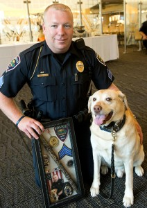 Wright State K-9 officer Tito