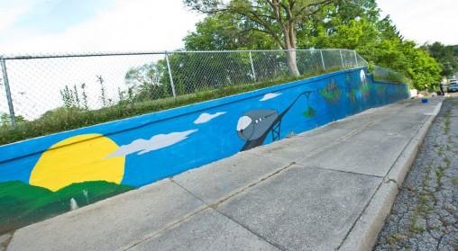 Timescape mural