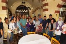 Wright State students, faculty and others gather at Pasha Grill as part of the Ramadan break-the-fast celebration