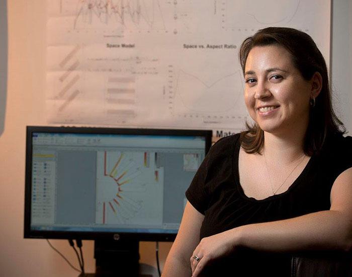 Engineering student Corinne Mowrey